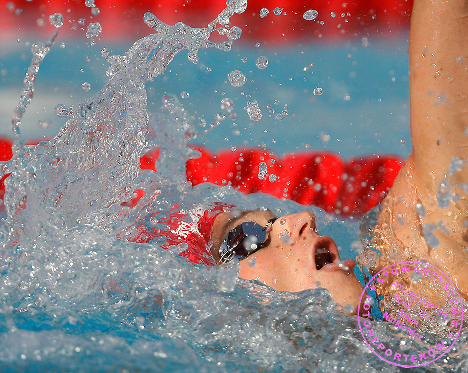 ROME 31/07/2009.13th Fina World Championships.Men's 200m Backstroke - Final.Radoslaw Kawecki of Poland ..photo: Piotr Hawalej / WROFOTO
