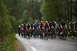 Megan Guarnier (USA) and Christine Majerus (LUX) at Ladies Tour of Norway 2018 Stage 2, a 127.7 km road race from Fredrikstad to Sarpsborg, Norway on August 18, 2018. Photo by Sean Robinson/velofocus.com