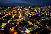 Uberaba_MG, Brasil...Vista panoramica de Uberaba a noite...The Uberaba panoramic view at night...Foto: LEO DRUMOND / NITRO