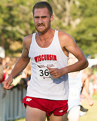 Boston College Invitational Cross Country race at Franklin Park; Drew Shields, Wisconsin