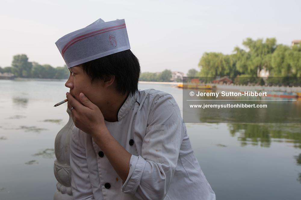 QianHai Lake, in Beijing, China, Monday 28th May 2012.
