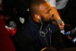 Nov 3, 2008; New York, NY, USA; Roy Jones Jr. works out at the Kingsway Gym in New York City in preparation for his November 8, 2008 Light Heavyweight championship fight against Joe Calzaghe.    The two fighters will meet at Madison Square Garden in NY, NY.