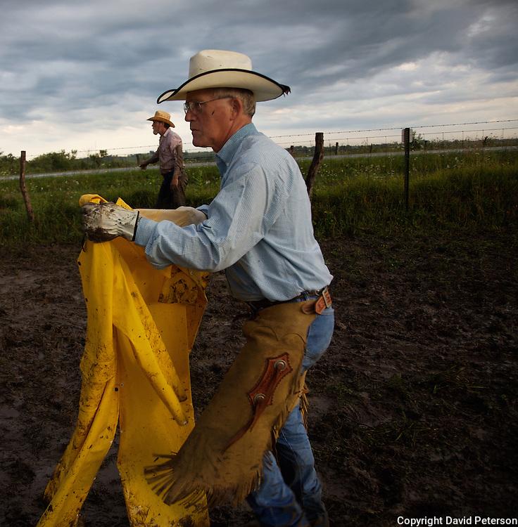 Cowboy Roundup Raincoat Chaps Jpg David Peterson Photography