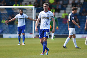 Bury Forward, Ryan Lowe  during the Sky Bet League 1 match between Bury and Southend United at the JD Stadium, Bury, England on 8 May 2016. Photo by Mark Pollitt.
