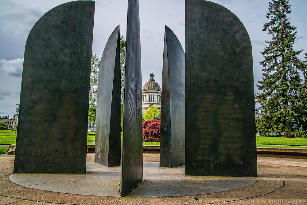 World War II Memorial, State Capitol Campus