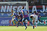 JOIE CAEN  / Nicolas BENEZET - 09.05.2015 -  Caen / Lyon  - 36eme journee de Ligue 1<br />Photo : Vincent Michel / Icon Sport