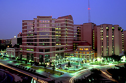 MD Anderson Cancer Center in the Texas Medical Center in Houston.