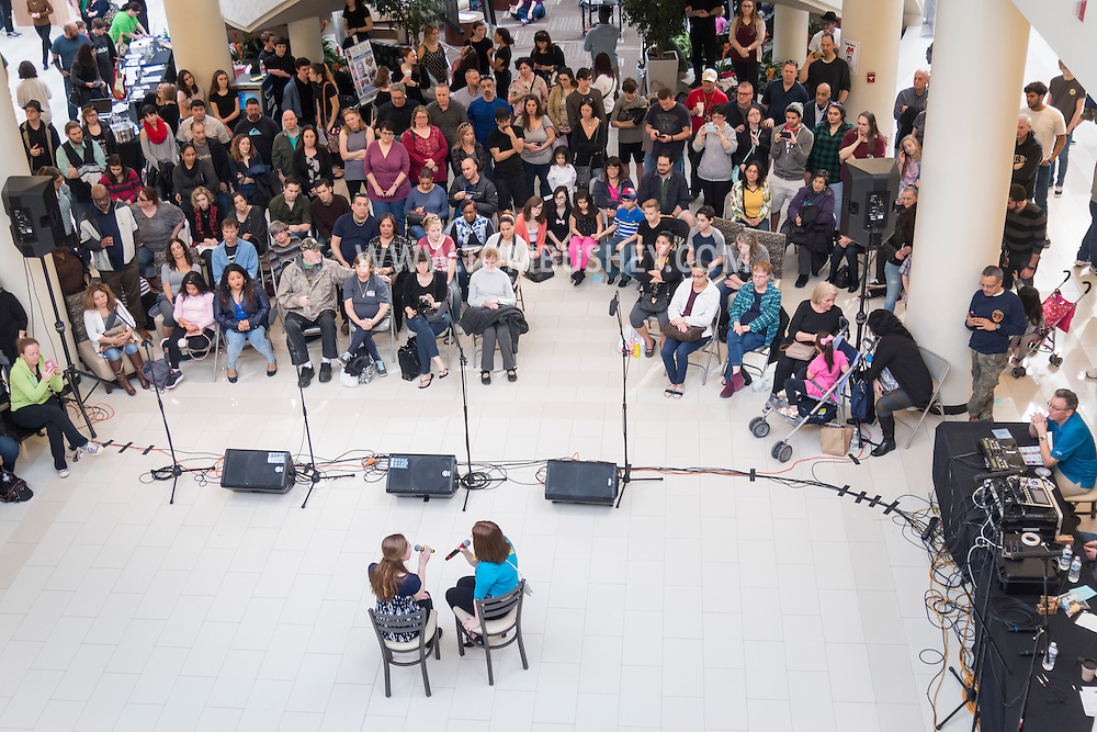 Town of Wallkill, New York - High School students perform in the 2017 All-County Musical Showcase and Visual Arts Display at the Galleria at Crystal Run on Feb. 25, 2017.
