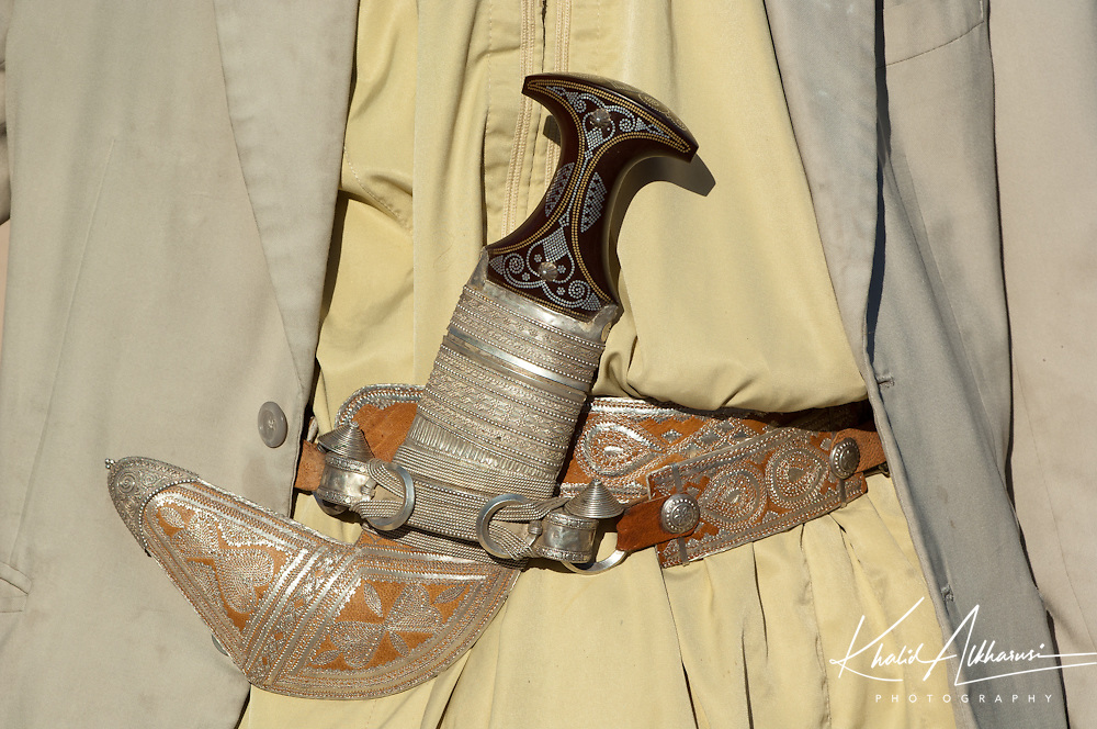 One type of the traditional dagger of Oman