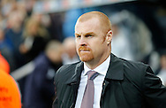 Burnley manager Sean Dyche prior to the Barclays Premier League match at St. James's Park, Newcastle<br /> Picture by Simon Moore/Focus Images Ltd 07807 671782<br /> 01/01/2015