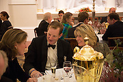 THE COUNTESS OF KINNOULL; THE EARL OF DERBY; MRS. MARK FAIRBANKS-SMITH, The National Trust for Scotland Mansion House Dinner. Mansion House, London. 16 October 2013