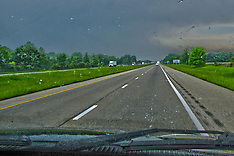 Highways - HDR, Panoramic, Conversion Fine Art and Software Enhanced Royalty Free Stock Images