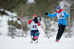 KOCHEROVA Natalia, RUS, Long Distance Biathlon, 2015 IPC Nordic and Biathlon World Cup Finals, Surnadal, Norway