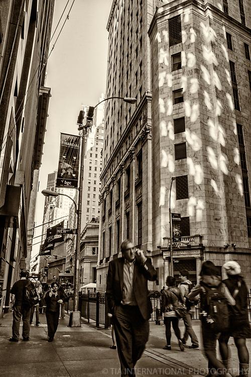 Wall Street, Lower Manhattan