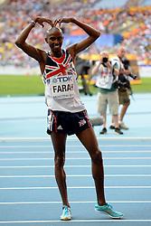 10-08-2013 ATLETIEK:  IAAF WORLD CHAMPIONSHIPS: MOSKOU<br /> MOHAMED FARAH MISTRZ SWIATA<br /> ***NETHERLANDS ONLY***<br /> ©2012-FotoHoogendoorn.nl