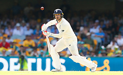 England's Mark Stoneman in action during day one of the Ashes Test match at The Gabba, Brisbane.