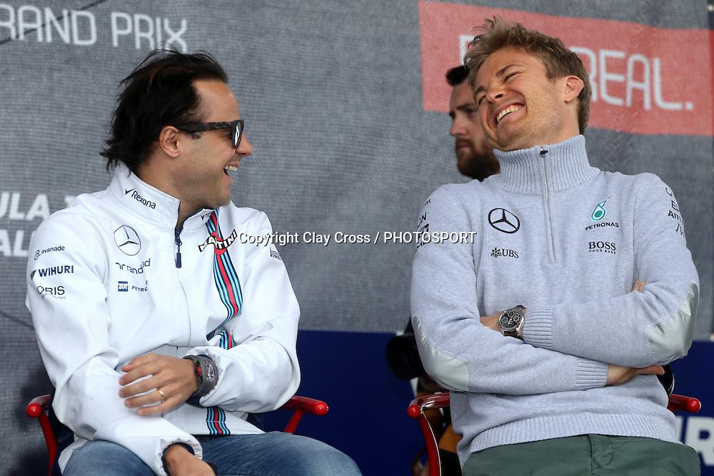 Nico Rosberg (Mercedes). 2016 Formula 1 Rolex Australian Grand Prix. Albert Park, Melbourne 17-20 March 2016. Photo: Clay Cross / photosport.nz