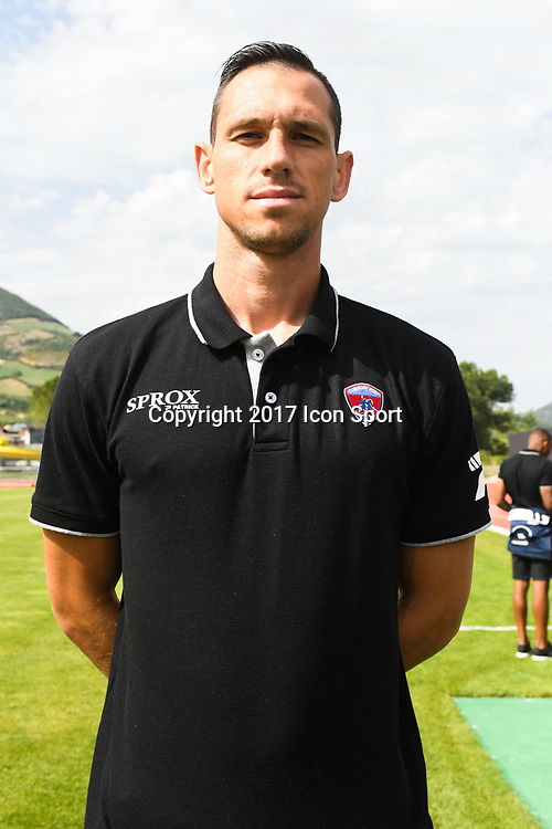 Martin Kavdanski of Clermont during the friendly match between Montpellier Herault and Clermont foot on July 19, 2017 in Millau, France. (Photo by Philippe Le Brech/Icon Sport)