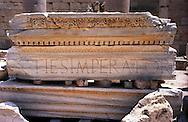 Libia, Leptis Magnia.Considerato il più bel sito romano del Mediterraneo.Basilica dei Severi..Libya, Leptis Magna.Considered the best Roman site in the Mediterranean