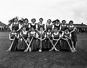 Camogie semi-final, Cork vs Dublin.  Cork Team..08/09/1957