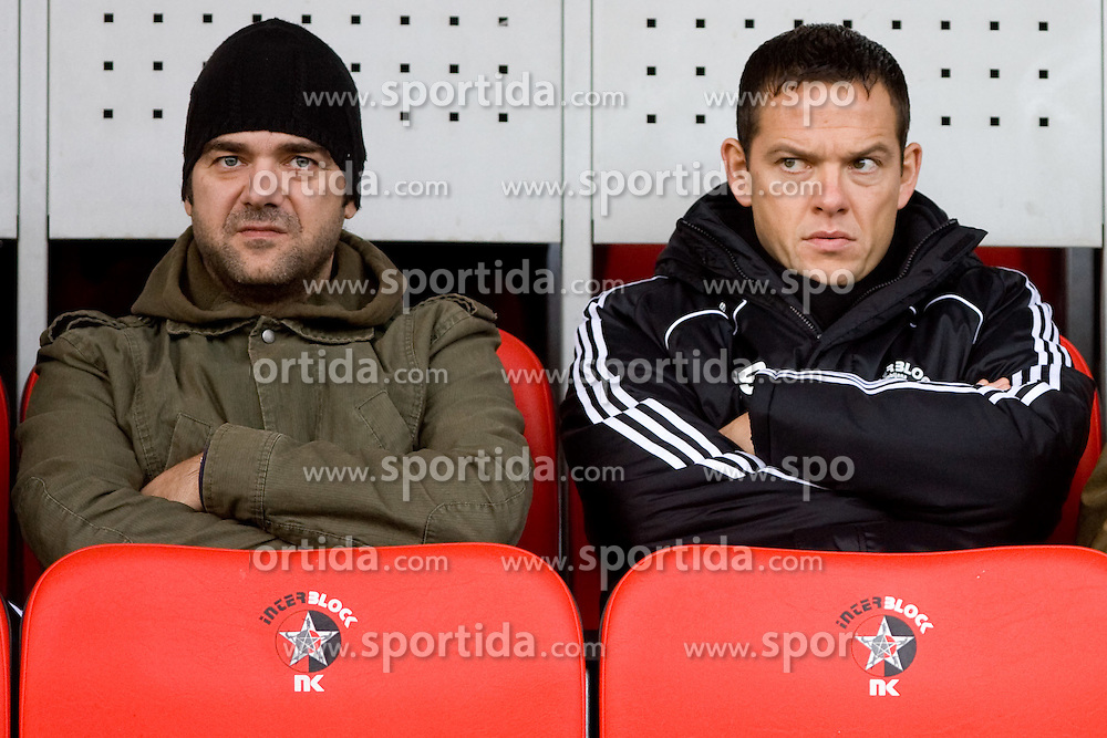 Nenad Protega at football match of Round 17 of Slovenian first league between NK Interblock and NK Rudar Velenje,  on November 7, 2009, in ZAK, Ljubljana, Slovenia.  Interblock won 3:1. (Photo by Vid Ponikvar / Sportida)