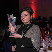 The Best Scotland Kebab awards winner Alla Turca Restaurant attends the 5th British Kebab Awards on 26th Feb 2017 at Park Plaza Westminster ,London,UK. by See Li