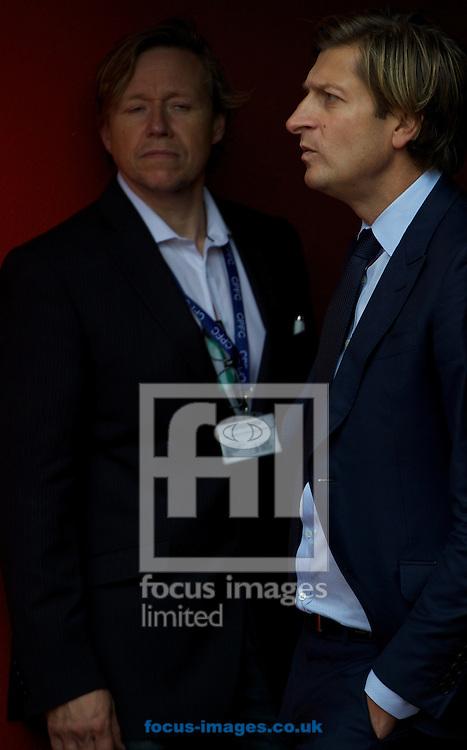 Crystal Palace chairman Steve Parish before the Barclays Premier League match at Selhurst Park, London<br /> Picture by Alan Stanford/Focus Images Ltd +44 7915 056117<br /> 18/10/2014