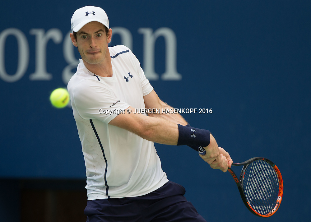ANDY MURRAY (GBR)<br /> <br /> Tennis - US Open 2016 - Grand Slam ITF / ATP / WTA -  USTA Billie Jean King National Tennis Center - New York - New York - USA  - 7 September 2016.