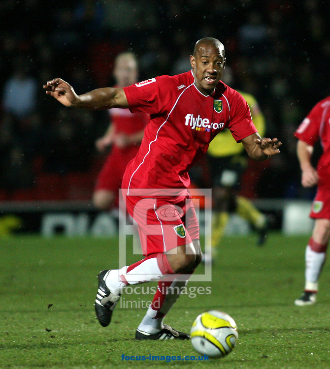 London - Tuesday, March 4th, 2008: Dion Dublin of Norwich City during the Coca Cola Champrionship match at Vicarage Road, London. (Pic by Chris Ratcliffe/Focus Images)