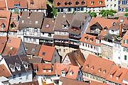 Blick auf Altstadt Weinheim, Baden-Württemberg, Deutschland | Overlooking Weinheim, Baden-Württemberg, Germany