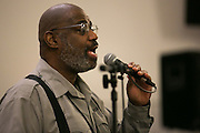 Julius Dicks leads the choir at a rehearsal for the 2017 Gospel Songfest in Rochester on Tuesday, January 10, 2017.