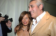 Jade Jagger and Lawrence Stroll, Nobu and Garrard in aid of Save the Children, Nobu, 12 March 2003. © Copyright Photograph by Dafydd Jones 66 Stockwell Park Rd. London SW9 0DA Tel 020 7733 0108 www.dafjones.com
