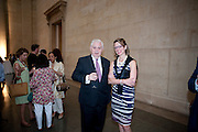 LORD LAMONT, Tate Summer Party. Celebrating the opening of the  Fiona Banner. Harrier and Jaguar. Tate Britain. Annual Duveens Commission 29 June 2010. -DO NOT ARCHIVE-© Copyright Photograph by Dafydd Jones. 248 Clapham Rd. London SW9 0PZ. Tel 0207 820 0771. www.dafjones.com.