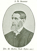Jacobus Nicolaas Boshof, a wise administrator in the Orange Free State.  In 1859 he was succeeded by M W Pretorius.