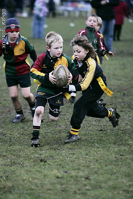 London Wasps Tag Festival. Under 8s..