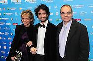 ©F.Andrieu-Bruxelles- 02-02-2013-Magritte du cinéma- David Murguia et ses parents