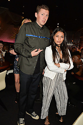 PROFESSOR GREEN and VANESSA WHITE at the STK Ibiza Pe-Launch Party held at STK London, 336-337 Strand, London on 21st June 2016.