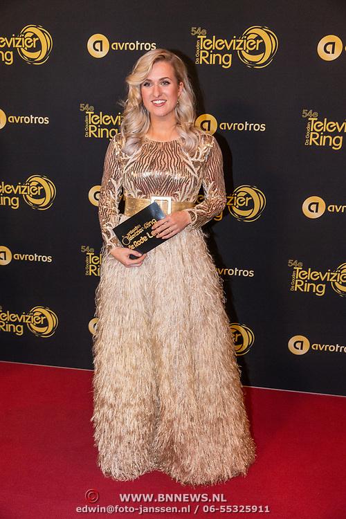 NLD/Amsterdam/20191009 - Uitreiking Gouden Televizier Ring Gala 2019, Britt Dekker