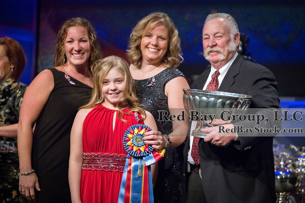 Photo from Year End Awards Gala at the 2014 USEF Annual Convention in Lexington, Kentucky.