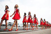 July 21-24, 2016 - Hungarian GP, Grid Girls