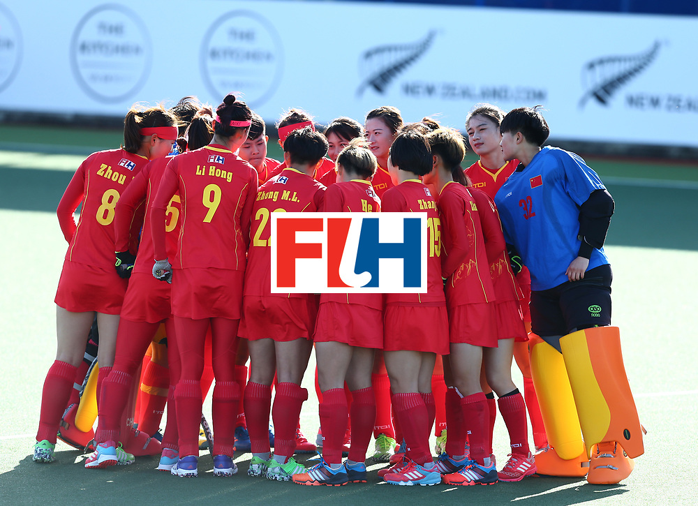 New Zealand, Auckland - 19/11/17  <br /> Sentinel Homes Women&rsquo;s Hockey World League Final<br /> Harbour Hockey Stadium<br /> Copyrigth: Worldsportpics, Rodrigo Jaramillo<br /> Match ID: 10297 - GER vs CHI<br /> Photo: