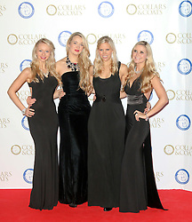 © Licensed to London News Pictures. 07/11/2013.  Passionata attending the Battersea Dogs & Cats Home Collars & Coats Gala Ball at Battersea Evolution, London UK. Photo credit: by Richard Goldschmidt/LNP