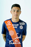 Jean DEZA - 06.10.2015 - Photo officielle Montpellier - Ligue 1<br /> Photo : De Hullessen / Mhsc / Icon Sport