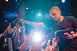 .---.Mar 30, 2010 : Manhattan, NY :.SOBs, 204 Varick Street, New  York, New York.Summary: J Cole, performing at SOBs..---.Rob Bennett for The New York Times