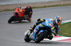 May 22, 2018 - Barcelona, Catalonia, Spain - Alex Rins (Suzuki) and Mika Kallio during the Moto GP test in the Barcelona Catalunya Circuit, on 22th May 2018 in Barcelona, Spain. (Credit Image: © Joan Valls/NurPhoto via ZUMA Press)