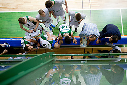 Head coach of Krka Aleksandar Dzikic during basketball match between KK Krka (SLO) and BK Prostejov (CZE) in 4th Round of Group E of EuroChallenge, on December 7, 2010 in Arena Leona Stuklja, Novo mesto, Slovenia. Krka defeated Prostejov 78 - 62. (Photo By Vid Ponikvar / Sportida.com)
