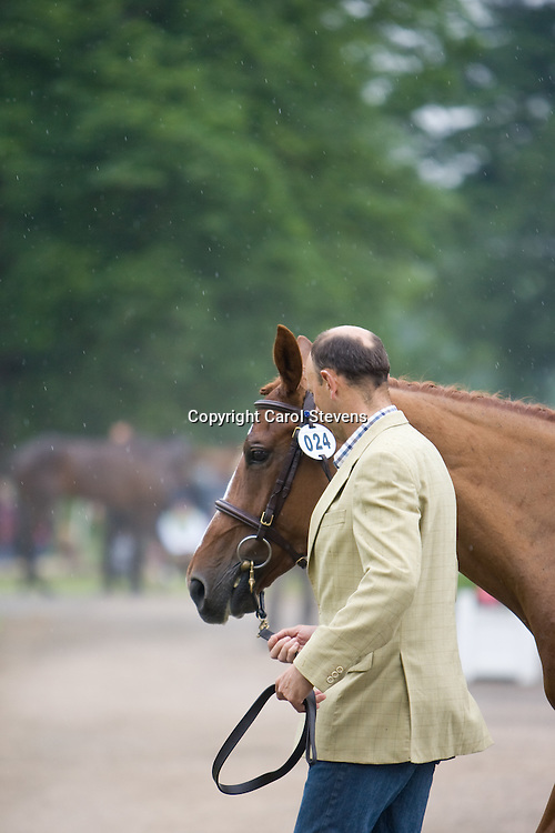 Bill Levett and Sea Oro at Bramham Horse Trials 2010 CCI***