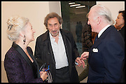 HOWARD JACOBSON, Frank Cohen and Nicolai Frahm host Julian Schnabel's 'Every Angel has a Dark Side,' private view and party. IN AID OF CHICKENSHED. Dairy Art Centre, 7a Wakefield Street, London. 24 APRIL 2014