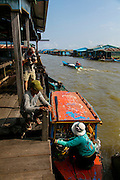Ice Factory, Chhnok Tru, floating village, Tonle Sap Lake, Cambodia
