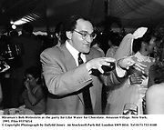 Miramax's Bob Weinstein at the party for Like Water for Chocolate. Amazon Village. New York. 1993. Film 93374f14<br />